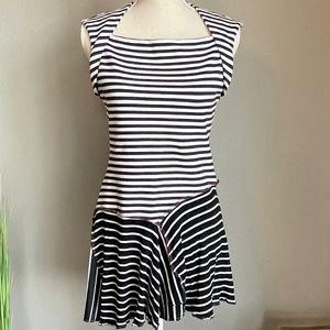 Kate Spade Saturday Striped Sleeveless Dress